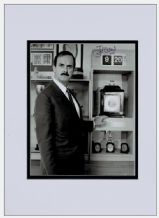 John Cleese Autograph Signed Photo Display - Clockwise